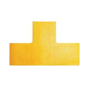 Podlahové značenie _T_ žlté 10ks