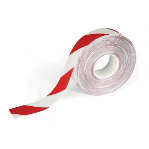 Vyznačovacia páska DURALINE STRONG 2 COLOUR bielo-červená 50mm x 30m