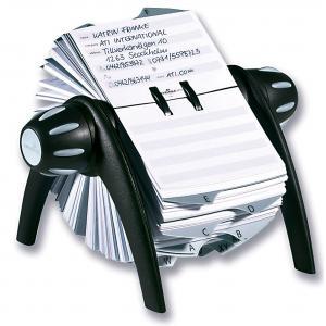 Rotačný záznamník TELINDEX Flip VEGAS čierny/sivý