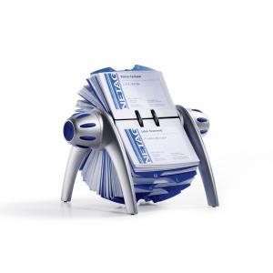 Rotačný vizitkár VISIFIX Flip VEGAS strieborný/modrý