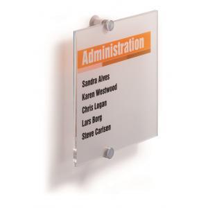 Informačná tabuľka Crystal Sign 210x210 mm