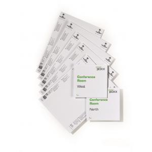 Náhradné kartičky pre Click Sign,Info Sign - 149x148,5 mm