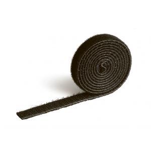 Suchý zips na káble CAVOLINE GRIP 10 čierna