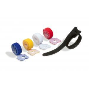 Suchý zips na káble so slučkou CAVOLINE GRIP TIE mix farieb