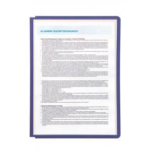 Katalógový panel SHERPA A4 fialový