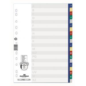 Plastový rozraďovač abecedný farebný A-Z