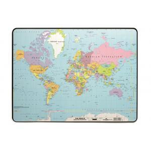 Podložka s mapou sveta 40x53 cm