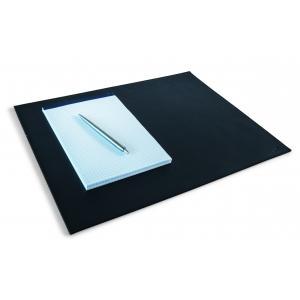 Podložka kožená čierna 42x30 cm