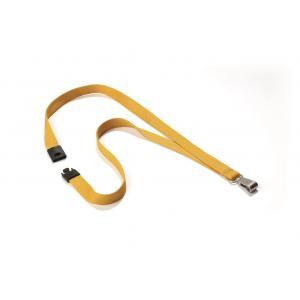 Závesný remienok DURABLE SOFT COLOUR 15mm žltý 10ks