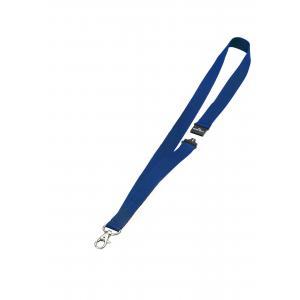 Závesný remienok 20 mm so skobou modrý, 1 ks