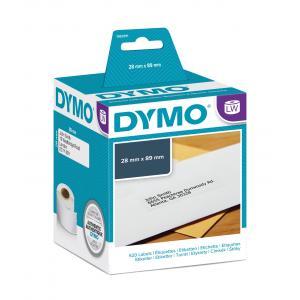 Samolepiace etikety Dymo LW 89x28mm adresné biele 520ks