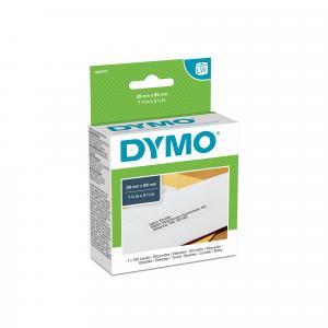 Samolepiace etikety Dymo LW 89x28mm adresné biele 130ks
