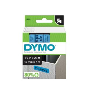 Samolepiaca páska Dymo D1 12 mm modrá/čierna