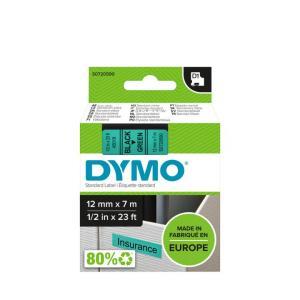 Samolepiaca páska Dymo D1 12 mm zelená/čierna
