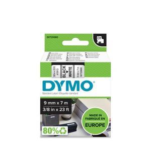 Samolepiaca páska Dymo D1 9 mm biela/čierna
