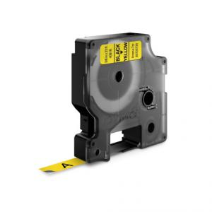 Samolepiaca páska Dymo D1 9 mm žltá/čierna