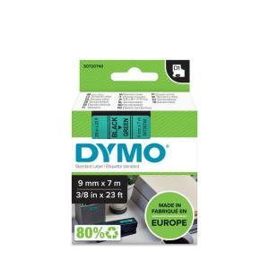 Samolepiaca páska Dymo D1 9 mm zelená/čierna