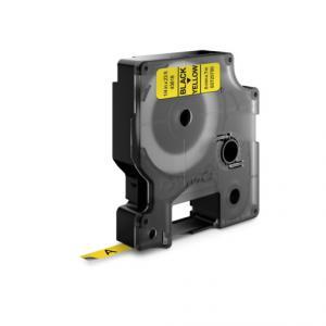 Samolepiaca páska Dymo D1 6 mm žltá/čierna