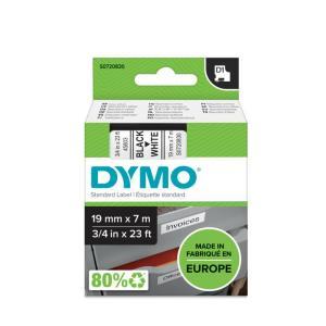 Samolepiaca páska Dymo D1 19 mm biela/čierna