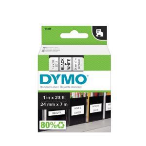 Samolepiaca páska Dymo D1 24 mm biela/čierna