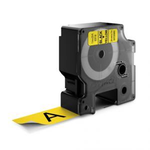 Samolepiaca páska Dymo D1 24 mm žltá/čierna