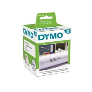 Samolepiace etikety Dymo LW 89x36mm adresné veľké biele 520ks