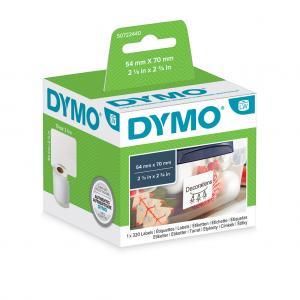 Samolepiace etikety Dymo  LW 70x54mm viacúčelové biele
