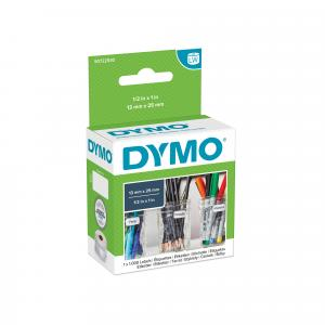 Samolepiace etikety Dymo LW 24x12mm viacúčelové biele