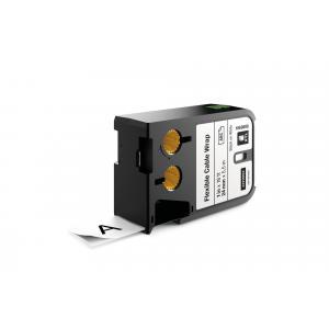 Flexibilná nylonová páska Dymo XTL 24 mm biela/čierna
