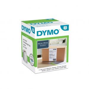 Samolepiace etikety Dymo LW 4XL 159x104 mm extra veľké biele