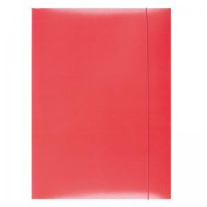 Kartónový obal s gumičkou Office Products červený