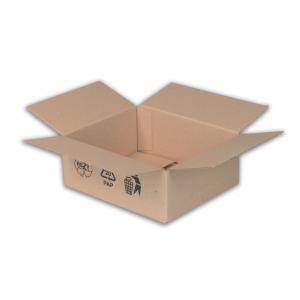 Škatuľa s klopou + recyklačné znaky 195x145x92mm