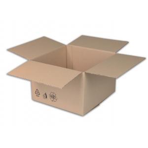 Škatuľa s klopou + recyklačné znaky 400x300x150mm