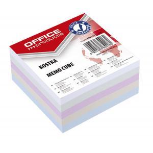 Blok kocka nelepená 85x85x40mm mix farieb