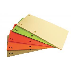 Kartónový rozraďovač Office Products úzky mix farieb
