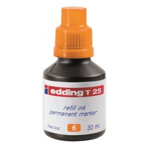Atrament edding T 25 oranžový