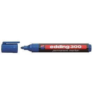 Permanentný popisovač edding 300 modrý