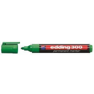Permanentný popisovač edding 300 zelený