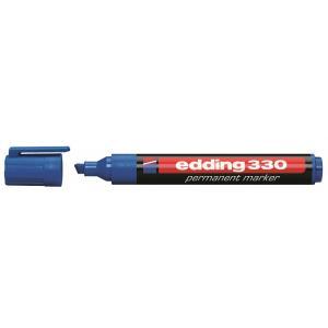 Permanentný popisovač edding 330 modrý