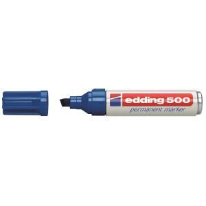 Permanentný popisovač edding 500 modrý