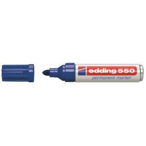 Permanentný popisovač edding 550 modrý