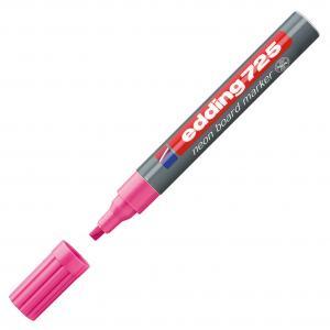 Popisovač na tabule edding 725 neon ružový