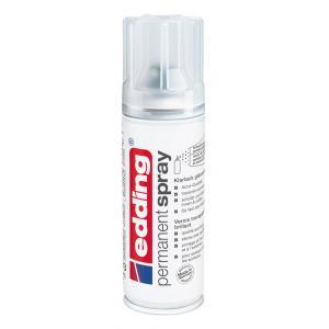 Akrylový sprej edding 5200 bezfarebný lak lesklý