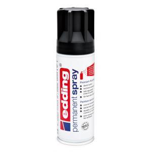 Akrylový sprej edding 5200 matný čierny RAL 9005
