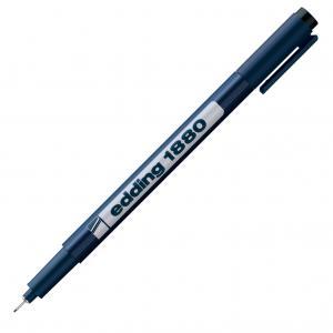 Liner edding 1880 0,3 mm čierny, stopa 0,35mm
