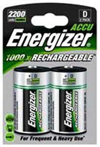 Batéria veľký monočlánok dobíjateľný NiMH D-HR 20 /2ks
