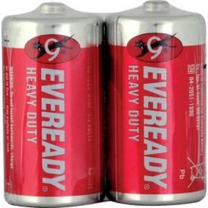 Batérie Energizer Eveready Red R14/2 malý monočlánok