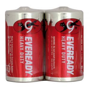 Batérie Energizer Eveready Red R20/2 veľký monočlánok