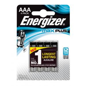 Batérie Energizer Max Plus LR03/4 mikrotužkové