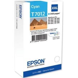 Atrament Epson T7012 cyan XXL C13T70124010 WP4000/WP4500